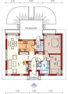 Karmela II: Parter Floor Plans, House, Arquitetura, Home, Haus, House Floor Plans, Houses