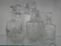 glass & crystal decanters