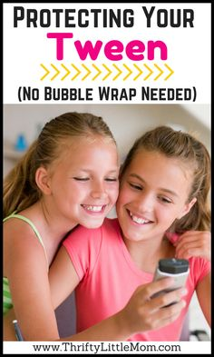 Protecting Your Tween (No Bubble Wrap Needed).  Are you looking for simple tips for tween parenting?  Whether your tween parenting a daughter or tween parenting a son, these tips can help you get inside their heads and help you stay on top of their social interactions while improving your relationship.