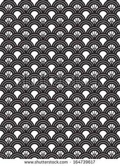 Art Deco Patterns   Art Deco Seamless Pattern Art deco style repeat pattern