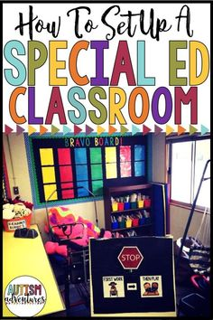 How to set up a special education classroom