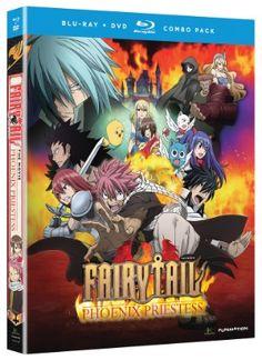 Fairy Tail the Movie: Phoenix Priestess DVD/Blu-ray (Hyb)