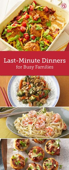 Getting back to into busy routines can cause some panic in the kitchen. Skip the stress and keep these quick, flavorful recipes on hand so that you can stay on schedule (and out of the drive-thru line).