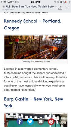 Kennedy school brewery