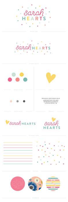 Sarah Hearts branding    Pinegate Road