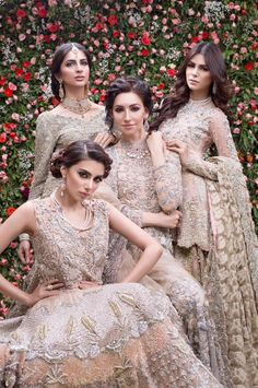 Saira Shakira Bridal Collection 2019 features diverse collection of High Quality Full embroidered Pakistani Bridal Dresses. The latest collection is perfect example of when Tradition meets glamours… Pakistani Bridal Dresses Online, Asian Bridal Dresses, Asian Wedding Dress, Pakistani Wedding Outfits, Pakistani Bridal Wear, Wedding Dress Pictures, Bridal Lehenga, Indian Bridal, Indian Dresses
