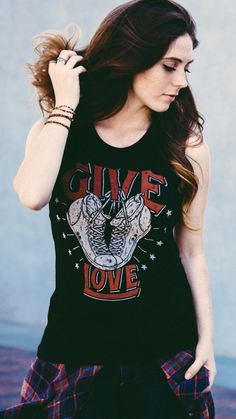 This week, this tee provides 7 CHILDREN with a pair of shoes! #sevenly #graphictank