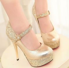2014 New Arrival Women's High Heels Solid Shoes Platforms Round Toe Party Women Pumps Shoes QL3327-ZZKKO