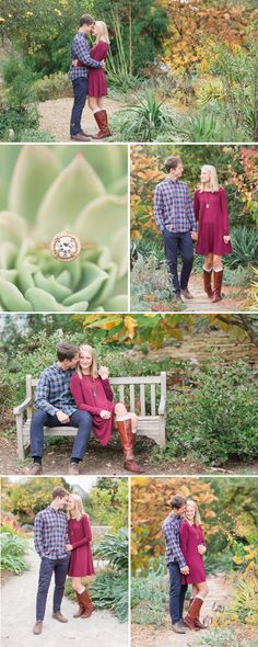 a-fall-virginia-tech-horticulture-garden-engagement-session-by-katelyn-james-photography