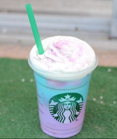 Anna Makhota: How to make Starbucks Unicorn frappuccino slime!