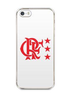 Capa Iphone 5/S Time Flamengo #3 - SmartCases - Acessórios para celulares e tablets :)