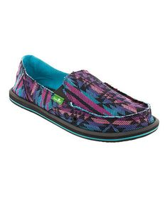 Take a look at this Blue Donna Slip-On Shoe - Women by Sanuk on #zulily today!