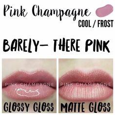Pink Champagne ! Matte or Glossy!  #Senegence #Lipsense #Fall #Burgendy #lipstick #lipgloss #mua #brides #bridetobe #bridesmaids #weddingseason #weddingdress #lipstain #longlasting #beauty #fashion #nosmear #waterproof #kissproof #smudgeproof #18hourslong  #cheerleading #dance #stayathomemoms #fitness #models #datenight #girlsnight #bachelorette #lashes #mascara #eyeshadows #foundation #concealer #bronzer #skincare #primer