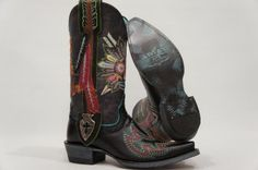 gypsy soule boots | Ariat Gypsy Soule Indian Sugar Pull on Western Cowboy Boots Shoes 5 5 ...