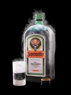 Jägermeister Jägermeister is a German 70-proof digestif made with 56 herbs and spices.