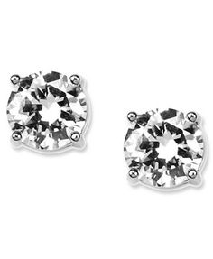 Wish list: Givenchy Earrings, Round Crystal Stud
