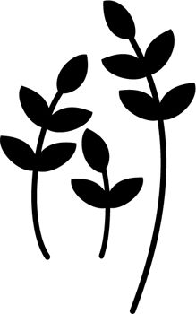 Free SVG File – Floral Design Element  #SVG #SCAL #Silhouette #Cricut