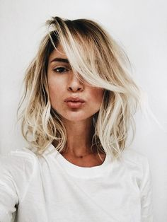 cute little bob | lob, blonde short hair, hairstyle, hair inspiration, everyday, bayalage, balayage, easy, diy ideas, casual, minimalist, minimalism, minimal, simplistic, simple, modern, contemporary, classic, classy, chic, girly, fun, clean aesthetic, bright, pursue pretty, style, neutral color palette, inspiration, inspirational, diy ideas, fresh, stylish,