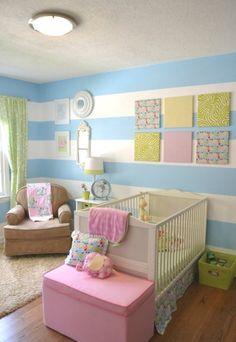 16 Striped Walls Ideas For Kids Room Design