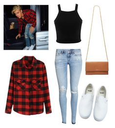 """""""Justin inspired outfit """" by tori4vida on Polyvore featuring H&M, Justin Bieber, Miss Selfridge, Vans, Lanvin, women's clothing, women's fashion, women, female and woman"""