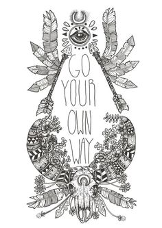 Go Your Own Way on Etsy, $24.12