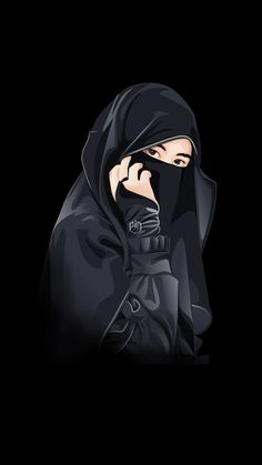 Cartoon Girl Images, Cute Cartoon Pictures, Cute Cartoon Girl, Cute Love Cartoons, Cool Girl Pictures, Cartoon Art, Islamic Girl Pic, Muslim Pictures, Hijab Drawing