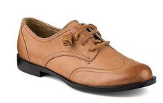 Brand New Womens Sperry Top-Sider Devon Ivy Oxford 100% Authentic #SperryTopSider #Oxfords  -  classic, brown leather, lace up flat.  want.   lj