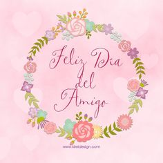 Frases bonitas para festejar el Día del amigo | KIREIDESIGN Pink Panter, Best Fiends, Poster Pictures, Friends Day, Best Friends Forever, Love Is Sweet, Holidays And Events, Happy Valentines Day, Diy And Crafts