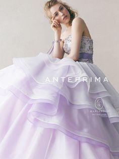 lavender ballgown with floral bodice Crazy Dresses, Ball Dresses, Colored Wedding Dresses, Wedding Gowns, Beautiful Gowns, Beautiful Outfits, Elegant Dresses, Pretty Dresses, Lavender Dresses
