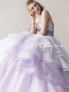 お花が可愛い*アンテプリマのドレスを着て、エレガントで可憐な花嫁になる♡にて紹介している画像 | no English translation | [Anteprima gown]