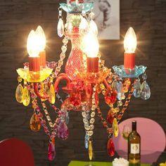 Baroque, Branches, Kare Design, Bunt, Birthday Candles, Chandelier, Ceiling Lights, Vintage, Home Decor