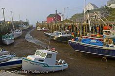 Fishing Boats Halls Harbour, Nova Scotia