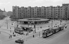 Móricz Zsigmond körtér - Moricz Zsigmond Square as it was in the 1950's