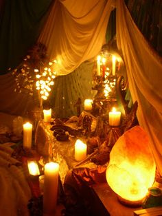 candlelight, looks so relaxing!