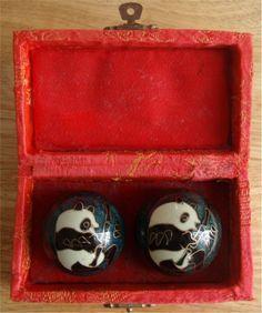Chinese Exercise Baoding Balls.