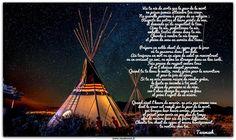Poème de Tecumseh. - Le site de Maître Zen