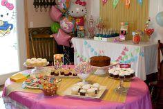 "Photo 1 of 9: Hello Kitty! / Birthday ""Hello Kitty Party"" | Catch My Party"