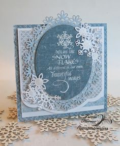 Quietfire Creations: Friendship and snowflakes