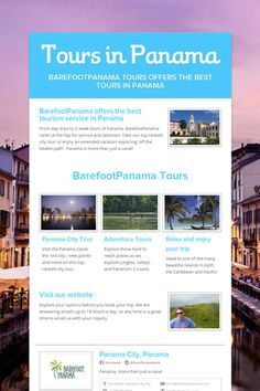 Tours in Panama