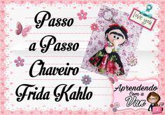 (DIY) PASSO A PASSO CHAVEIRO FRIDA KAHLO - YouTube