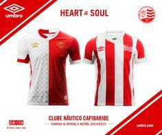 Terceira camisa + retrô Náutico 2015 Umbro
