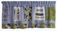 PEM America VC1932-4100 Catch a Wave Valance by Pem America. Save 61 Off!. $23.38. Valance measures 18 inches high by 70 inches wide.. Cotton. Imported.. 3 inch rod pocket.. 100% cotton face with polyester backing.. Classic blues and greens of the sea dominate this surfing inspired valance.