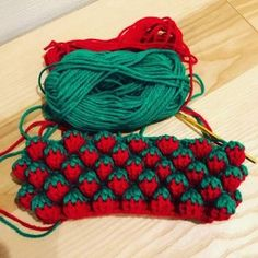 How To Easy Crochet Strawberry Stitch All Free Crochet, Crochet Chart, Crochet Motif, Crochet Stitches, Knit Crochet, Crochet Patterns, Easy Crochet, Crochet Gloves, Crochet Beanie