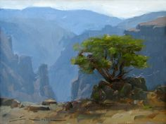 More Plein Air Paintings from Telluride, Black Canyon of the ...