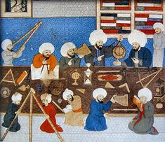 Istambul observatory in 1577 Bagdad, Mehmed The Conqueror, Astronomy Terms, Astronomy Facts, Buch Design, Ottoman Empire, Dark Ages, Moorish, Science And Nature