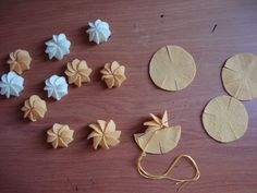 Felt Flowers or Shells Felt Cupcakes, Felt Cake, Felt Diy, Felt Crafts, Diy And Crafts, Sewing For Kids, Diy For Kids, Crafts For Kids, Felt Flowers