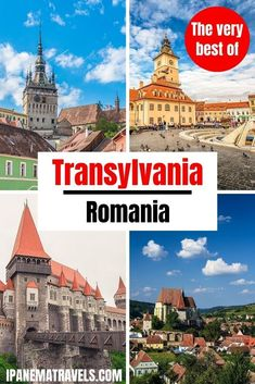 Discover the very best of Transylvania (Romania): Brasov, Rasnov Fortress, Sighisoara, Sibiu, Bran Castle and Corvin Castle. Travel to Transylvania, Romania. Includes the best places to visit in Transylvania and the best things to do and see in Transylvania. Europe Travel Guide, Travel Destinations, Peles Castle, Visit Romania, Transylvania Romania, Romania Travel, Places In Europe, European Destination, World Heritage Sites