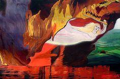 Fiery Baptize Painting by John Paul Blanchette http://john-paul-blanchette.artistwebsites.com/featured/fiery-baptize-john-paul-blanchette.html