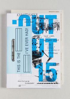 Typografie Output 15 - Catalog - Designbüro Frankfurt GbR - I like the mixture of striking majuscule Editorial Design Layouts, Web Design, Layout Design, Web Layout, Corporate Design, Mises En Page Design Graphique, Design Brochure, Booklet Design, Plakat Design
