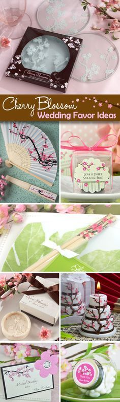 40 Gorgeous Cherry Blossom Wedding Favor Ideas